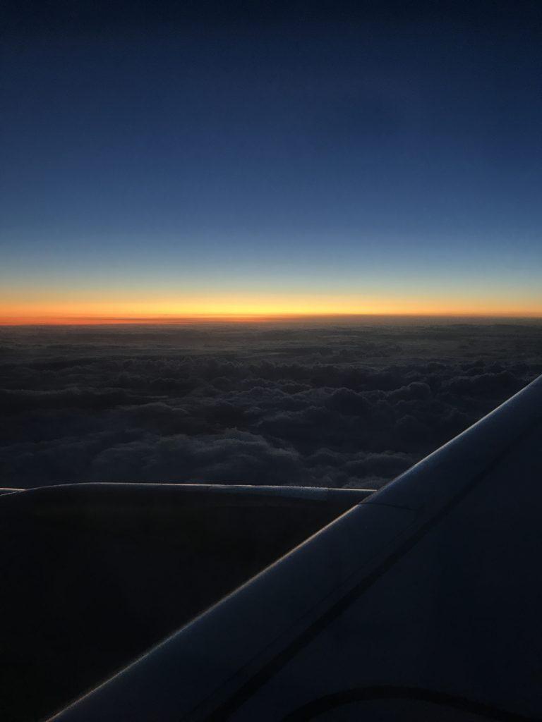 InsideFlyer wochenrückblick Sonnenuntergang