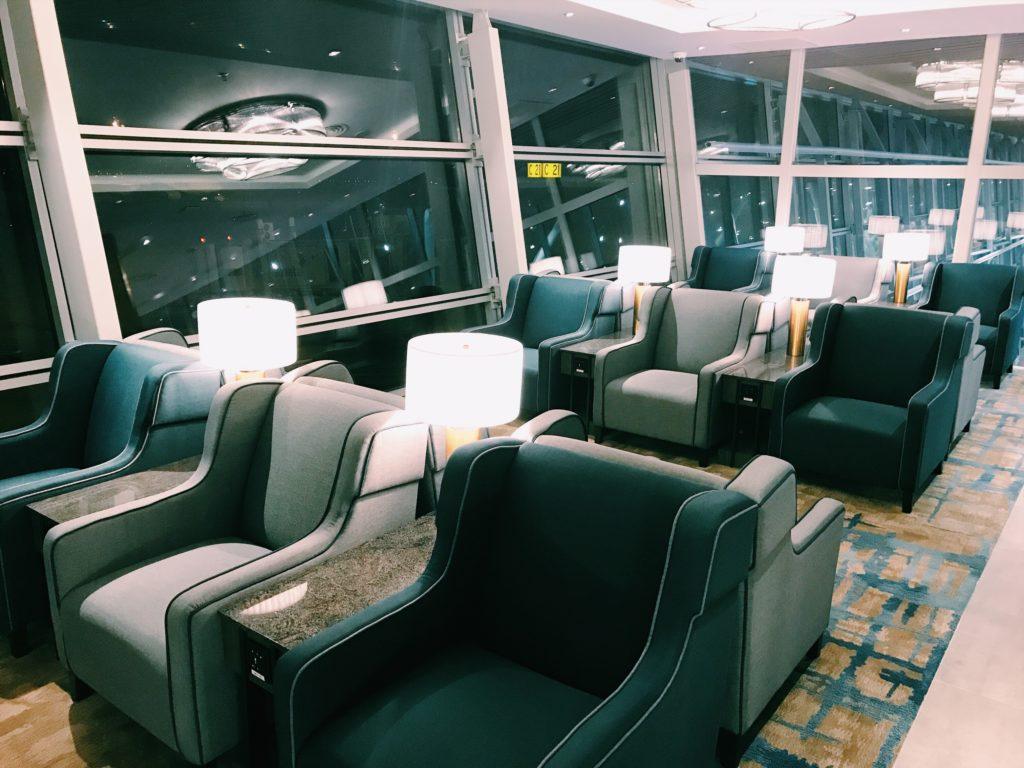 Plaza Premium First Lounge Kuala Lumpur Sessel
