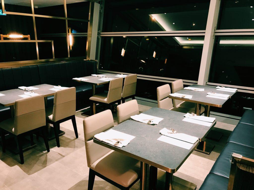Plaza Premium First Lounge Kuala Lumpur Restaurantbereich