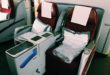 Qatar Airways Boeing 777 Business Class Sitz