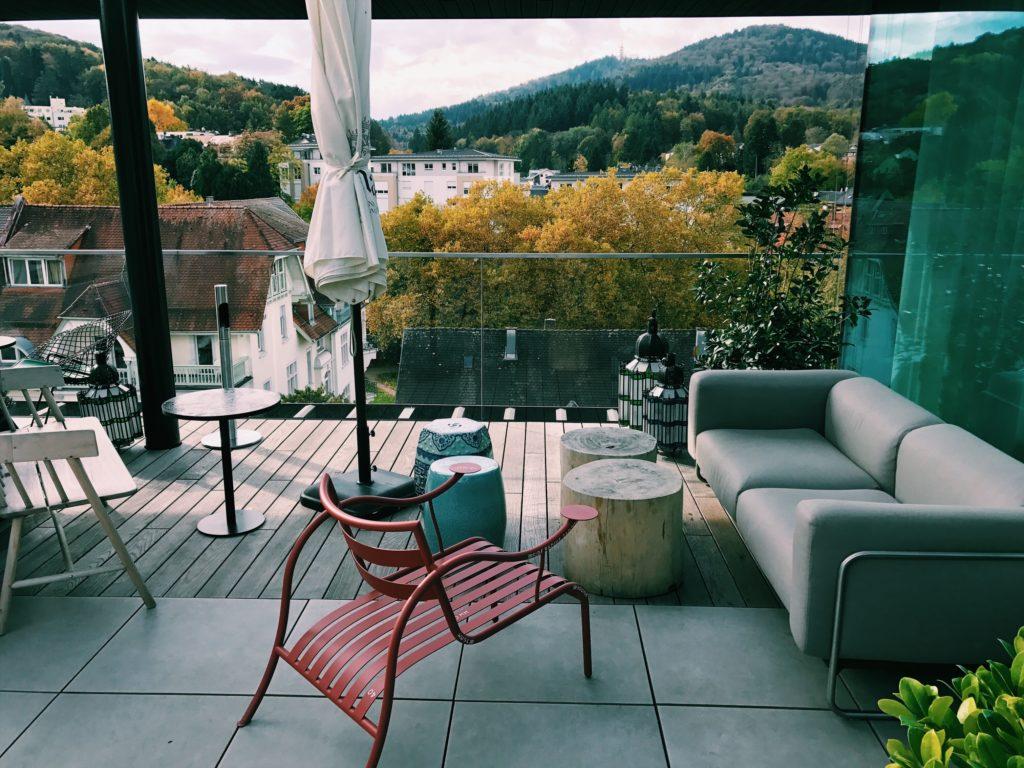 Roomers Baden-Baden Dachterrasse