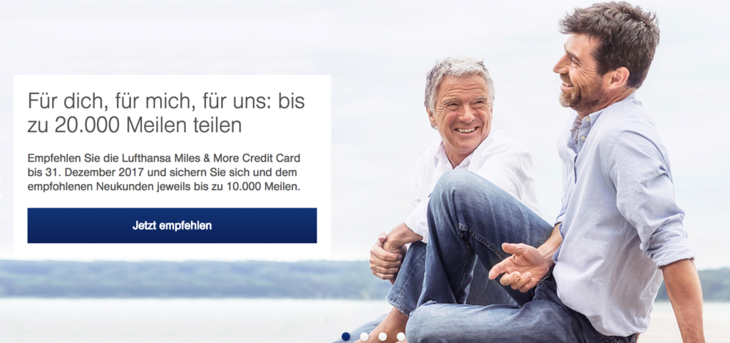 Miles & More Prämienmeilen mit der Kreditkarte sammeln
