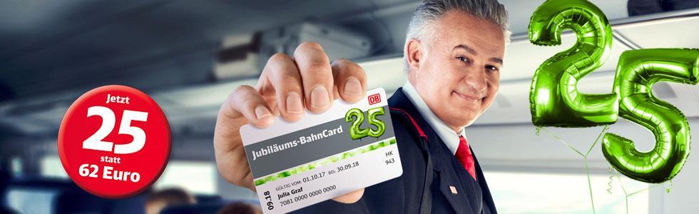 Bahncard 25 Jubiläum