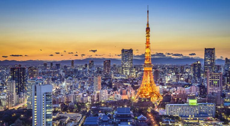 Business Class nach Tokio