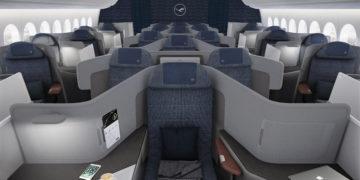 Neue Lufthansa Business Class Boeing 777