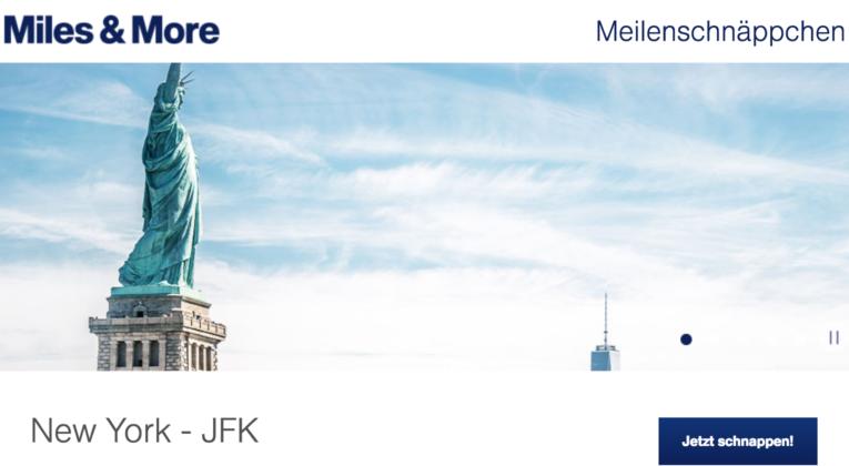 InsideFlyer Wochenrückblick Lufthansa Meilenschnäppchen