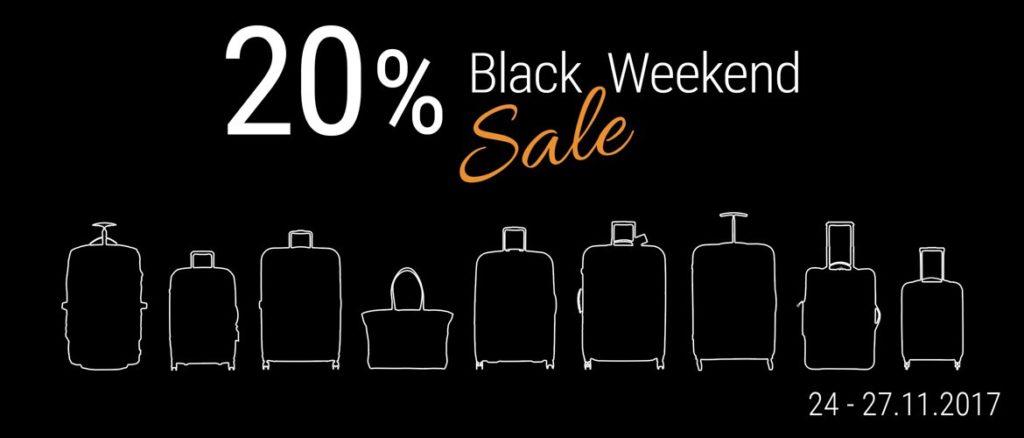 Übersicht Black Friday Angebote Reisegepäck