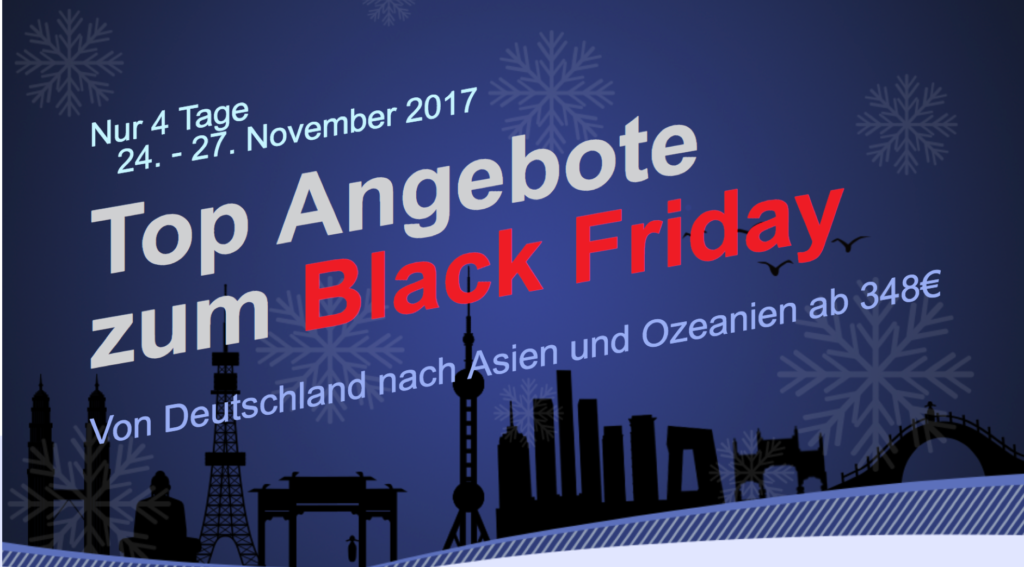 Air China Black Friday Sale