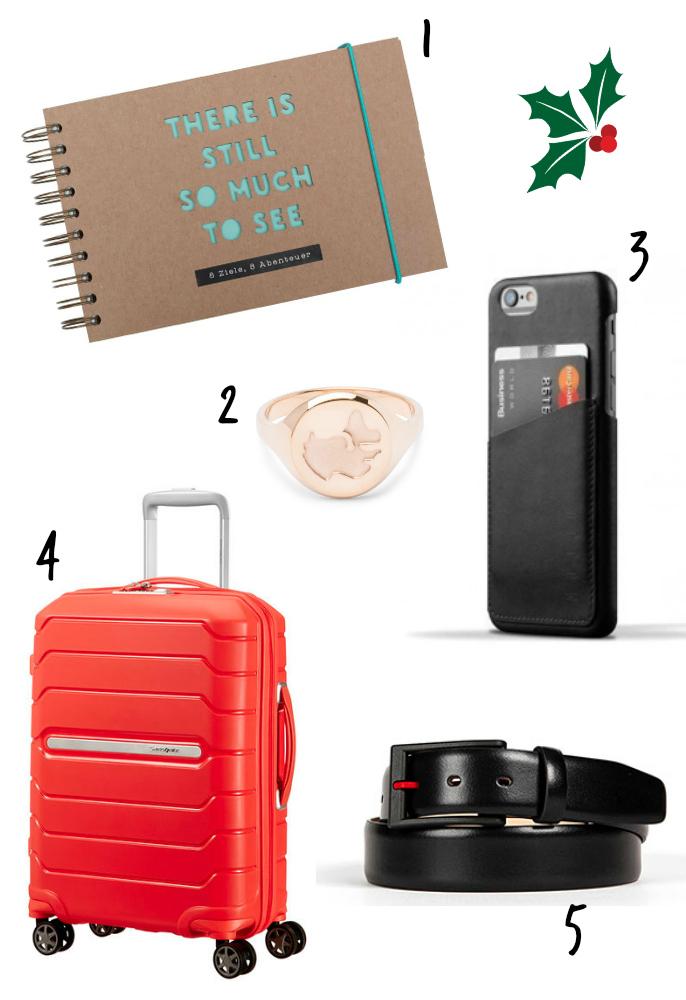 10 Weihnachtsgeschenke für Reisende