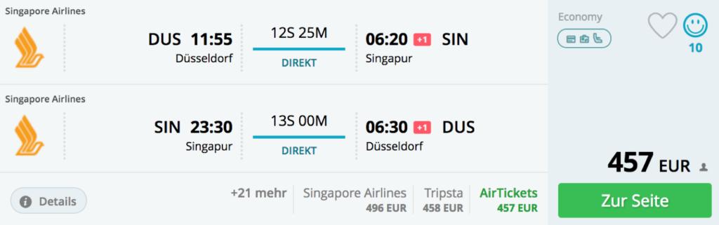 InsideDeals nach Singapore