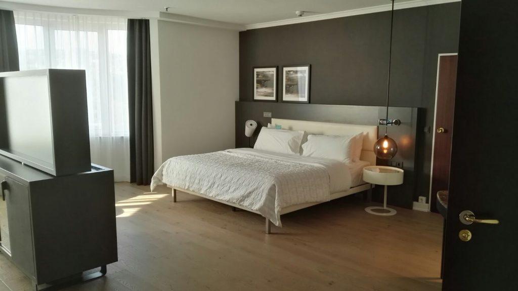 Le Méridien Stuttgart Junior Suite Schlafbereich