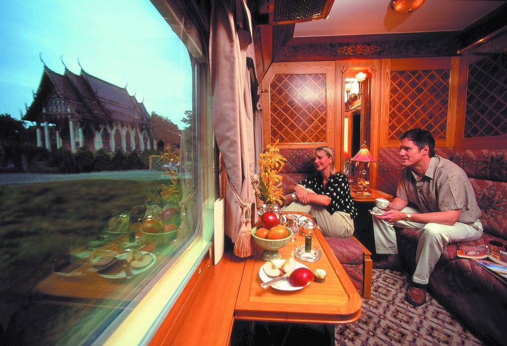 eindrucksvolle Zugstrecken: Western & Oriental Express