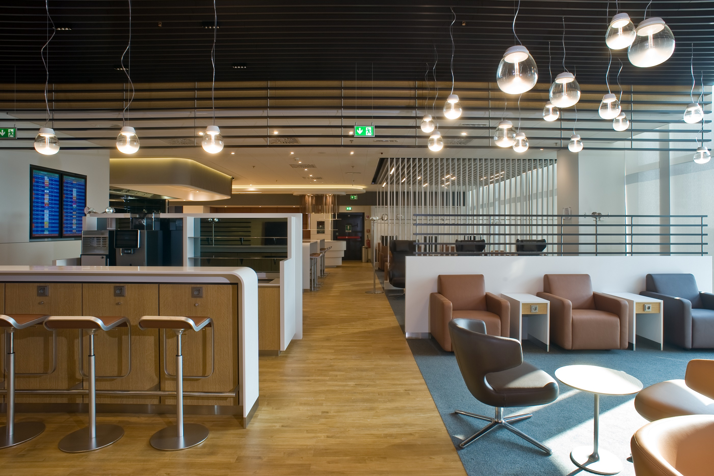 Neue Lufthansa Lounge in Mailand Malpensa
