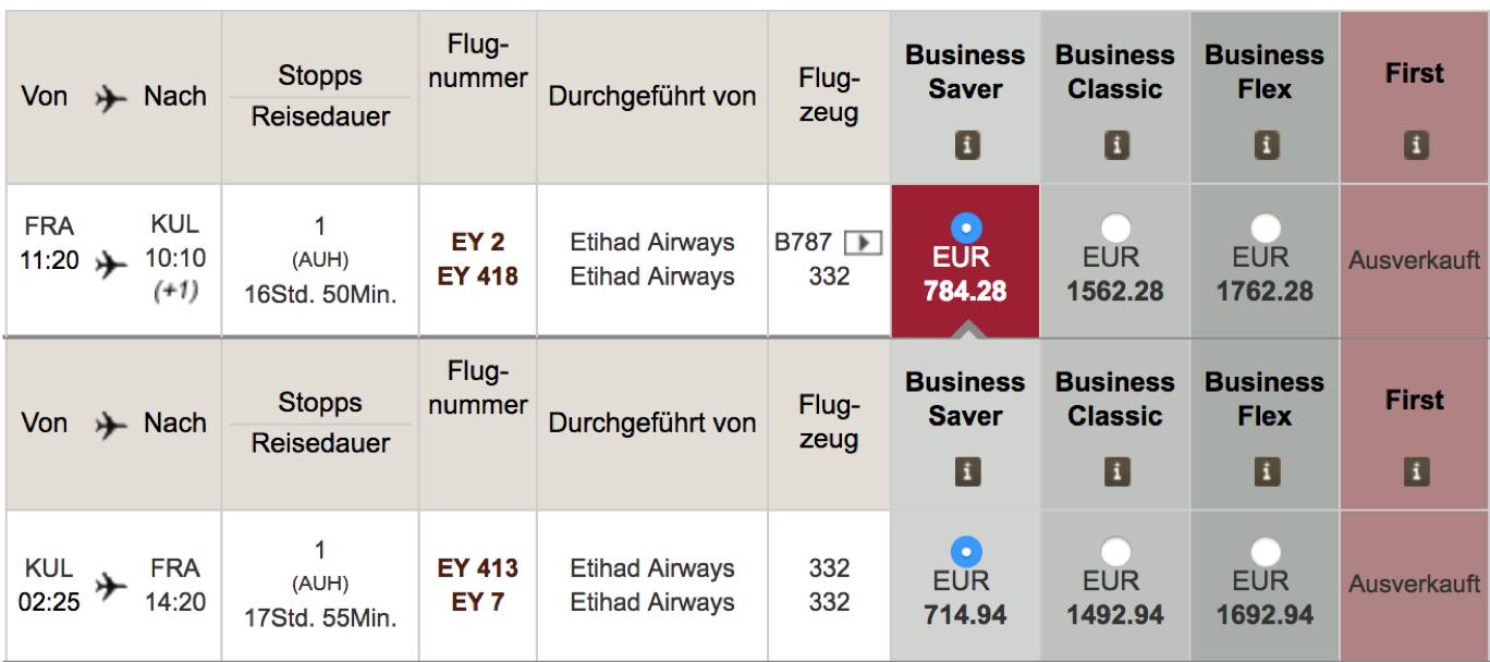 Etihad Airways Flash Sale