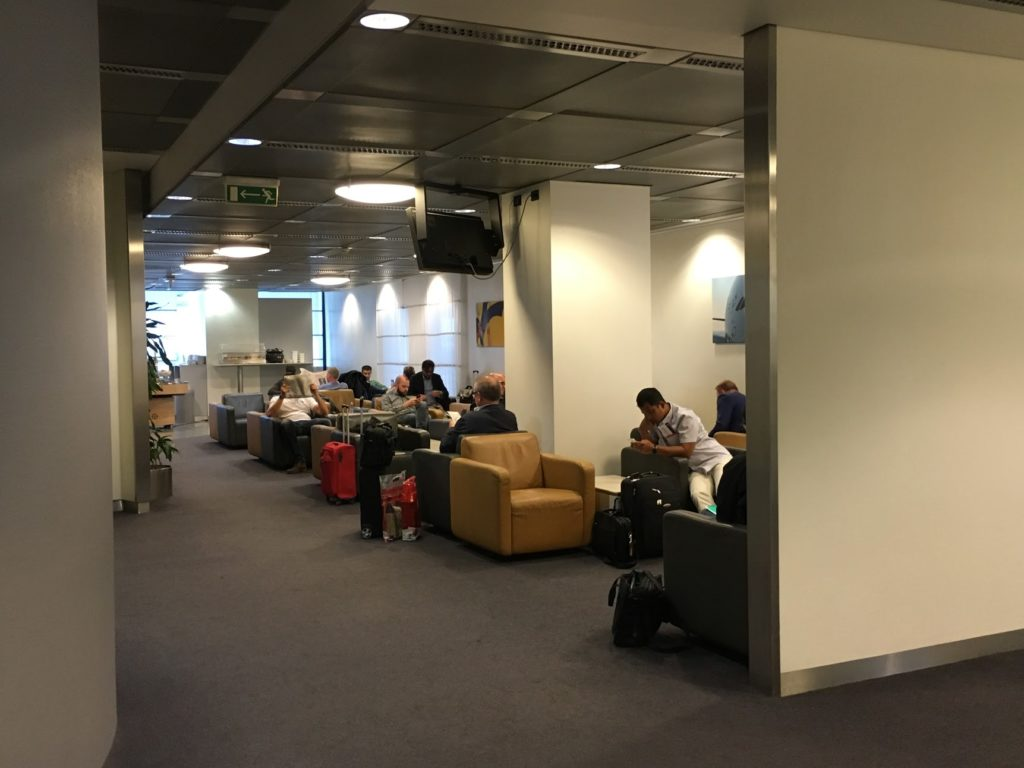 Alte Lufthansa Lounge Mailand Malpensa