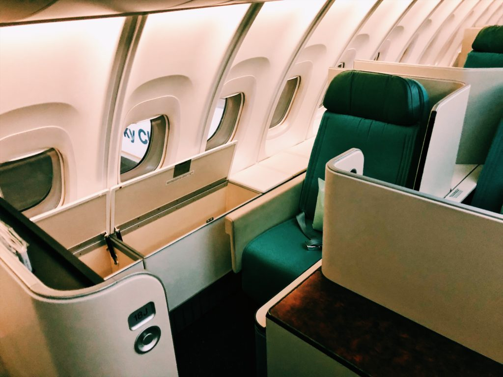 Korean Air Boeing 747-8i Business Class