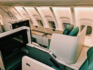 Korean Air Boeing 747-8i Business Class