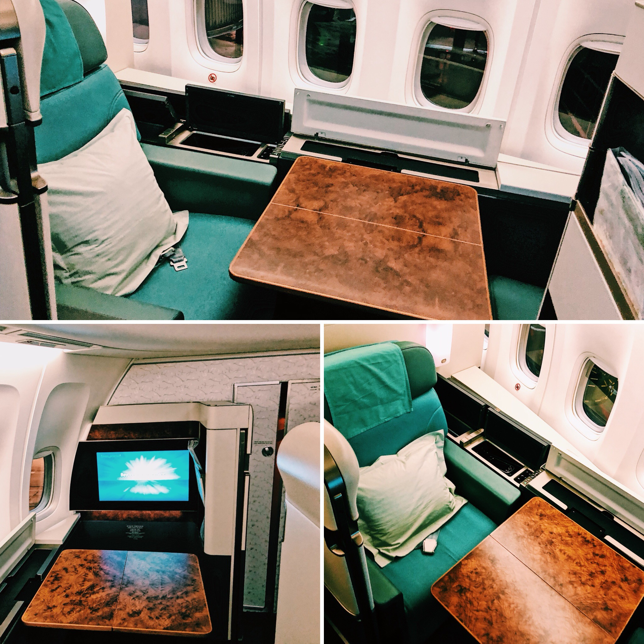Korean Air Boeing 747-8i First Class
