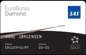 SAS EuroBonus Diamond