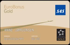 SAS EuroBonus Gold