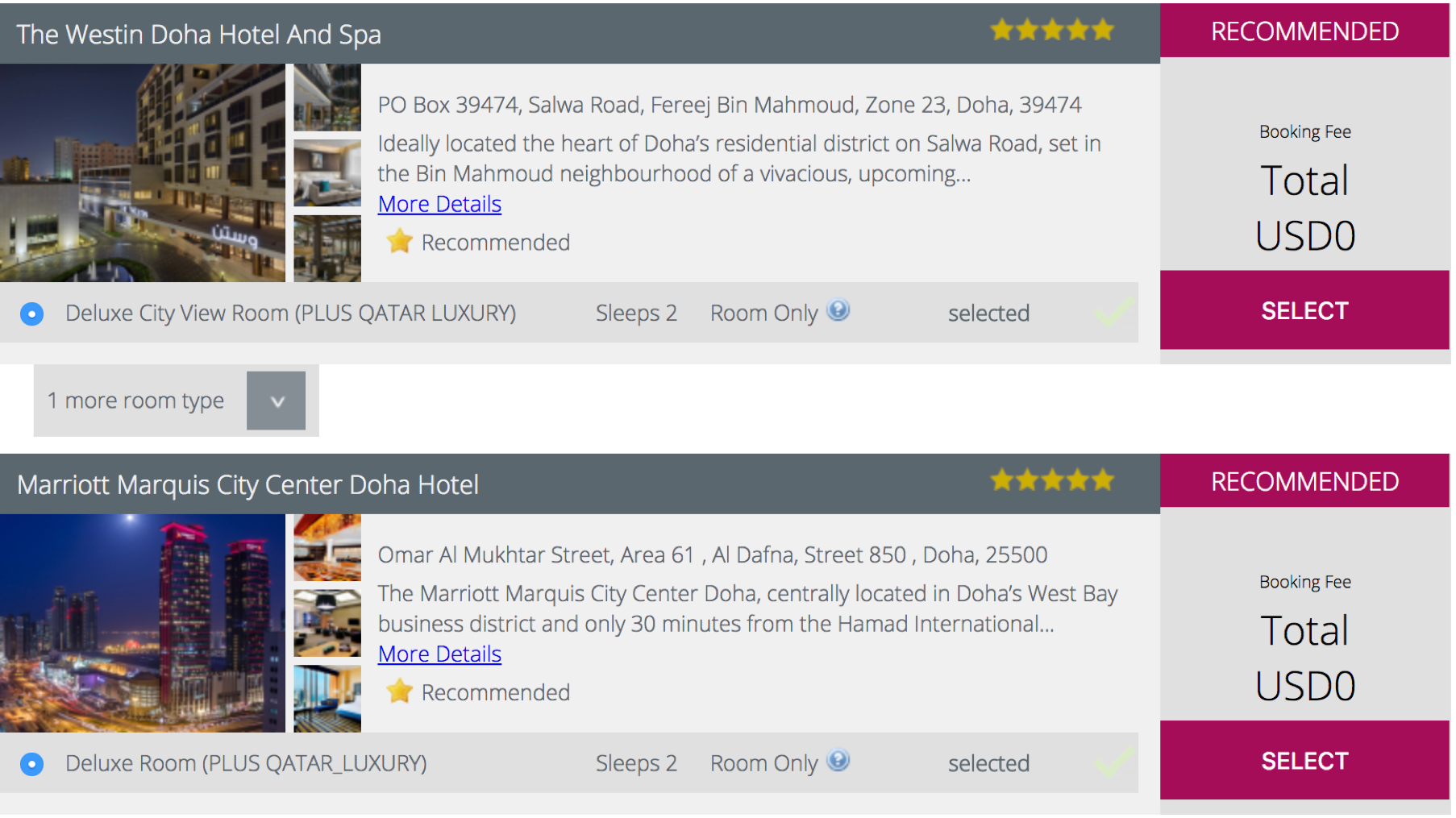 Qatar Airways Stopover Programm +Qatar Hotels