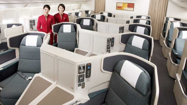 Cathay Pacific Business class nach Hongkong