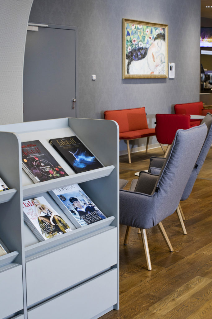 Neugestaltete Austrian Airlines Senator Lounge eröffnet