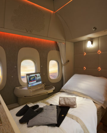 Neue Emirates First Class