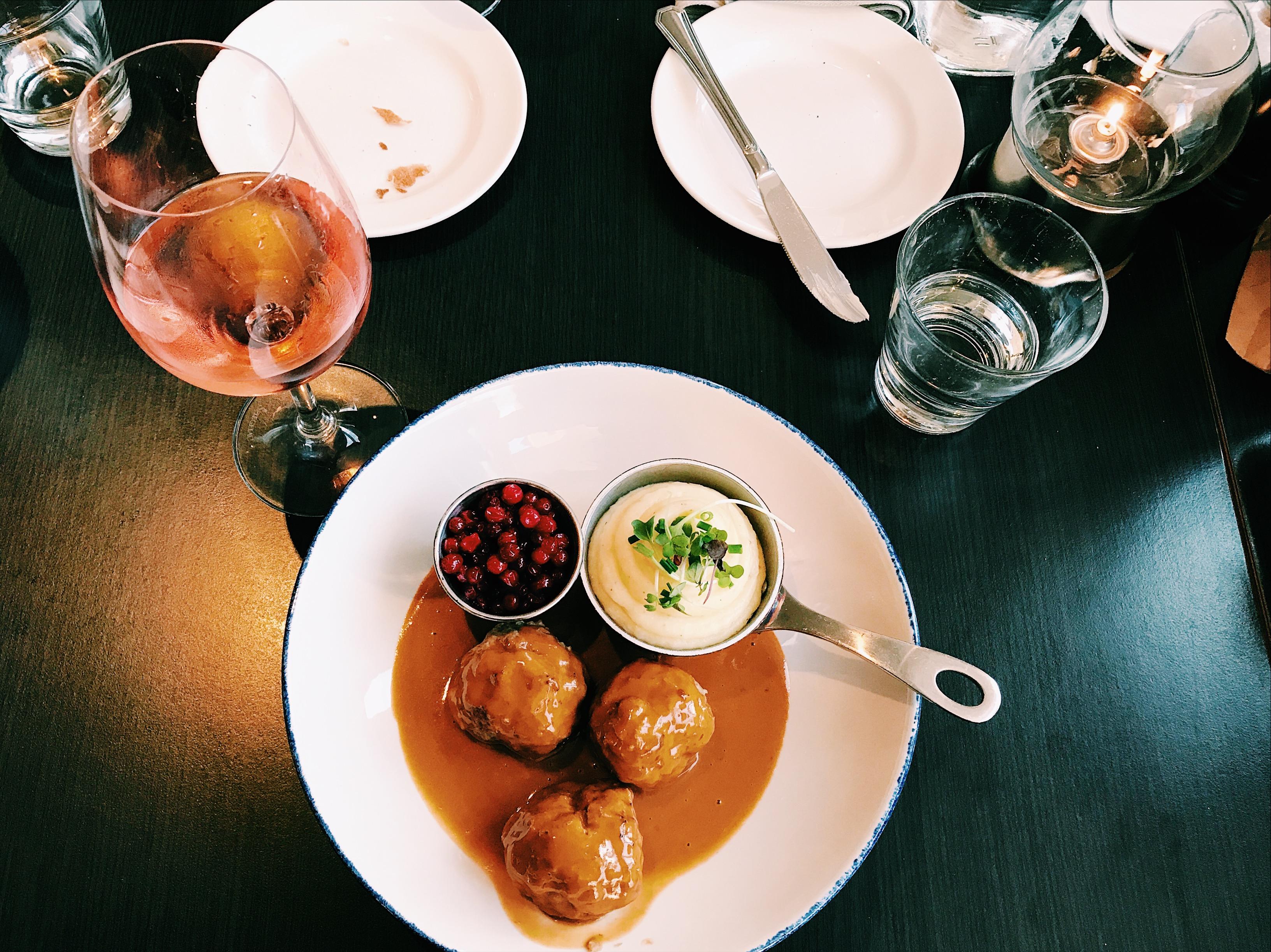 Hilton Stockholm Slussen Dinner