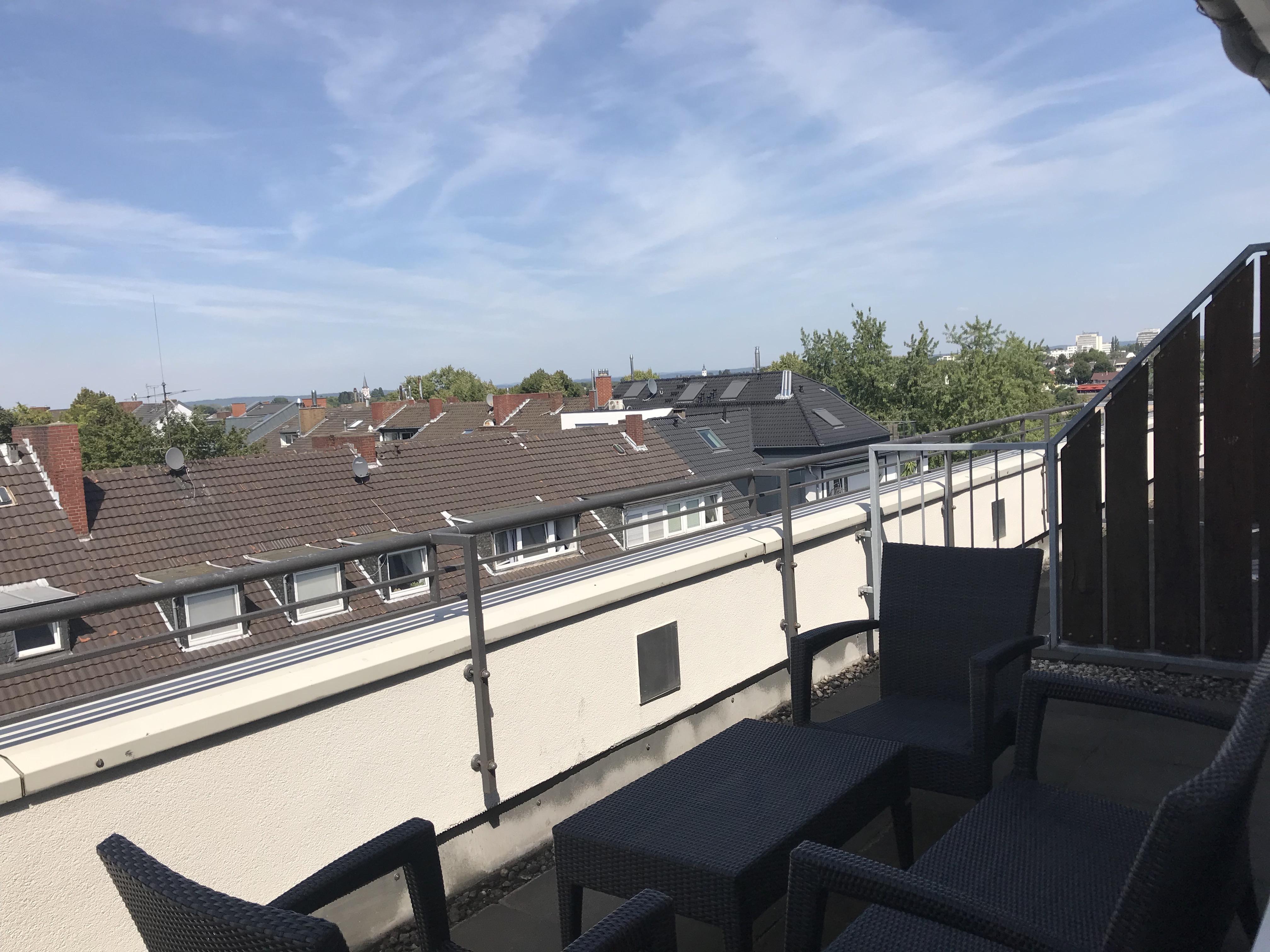 Hilton Bonn Junior Suite Terrasse
