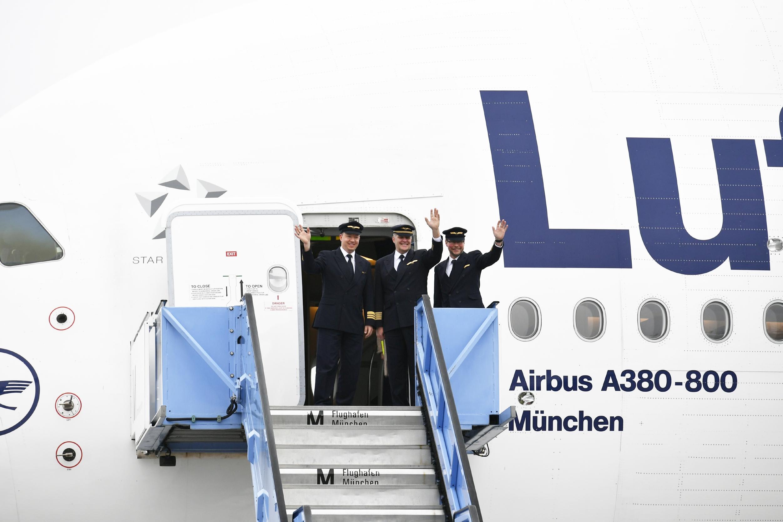 Lufthansa A380 Flüge ab München