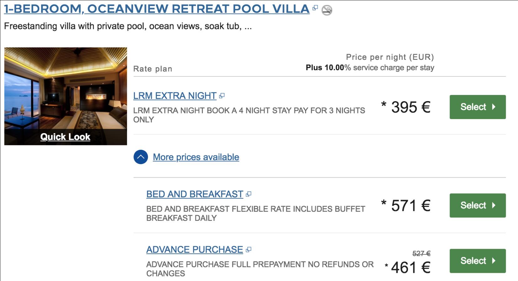 Eine kostenfreie Übernachtung bei Conrad hotels