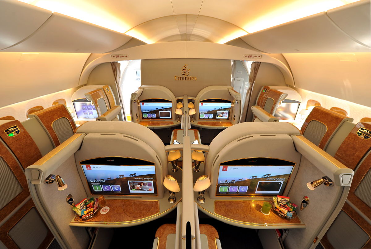 Emirates First Class Partner Sale