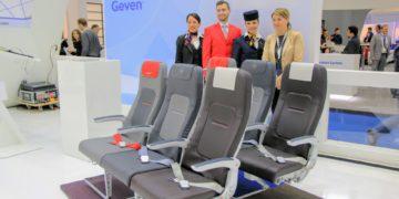 Neuer Lufthansa A320 Sitz