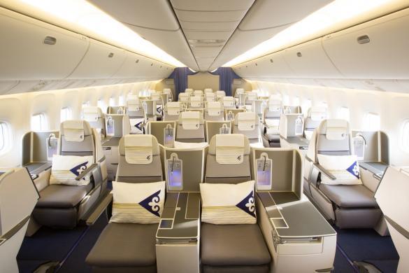 Air Astana Business Class nach Asien