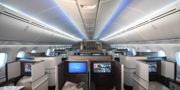 Gulf Air Boeing 787 Business Class
