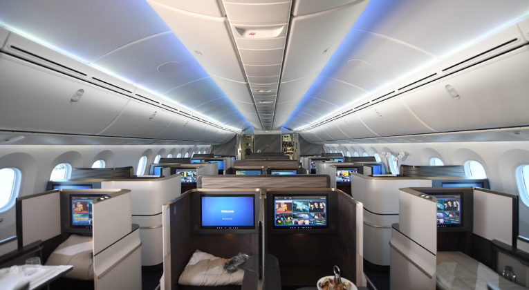 Gulf Air Boeing 787 Business Class