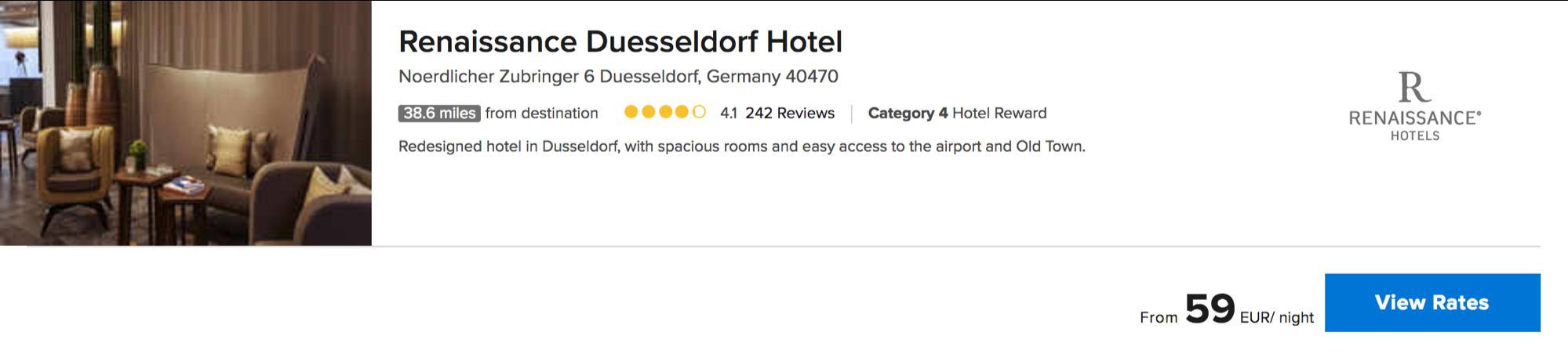 Kostenlose Übernachtung bei Marriott Hotels erhalten