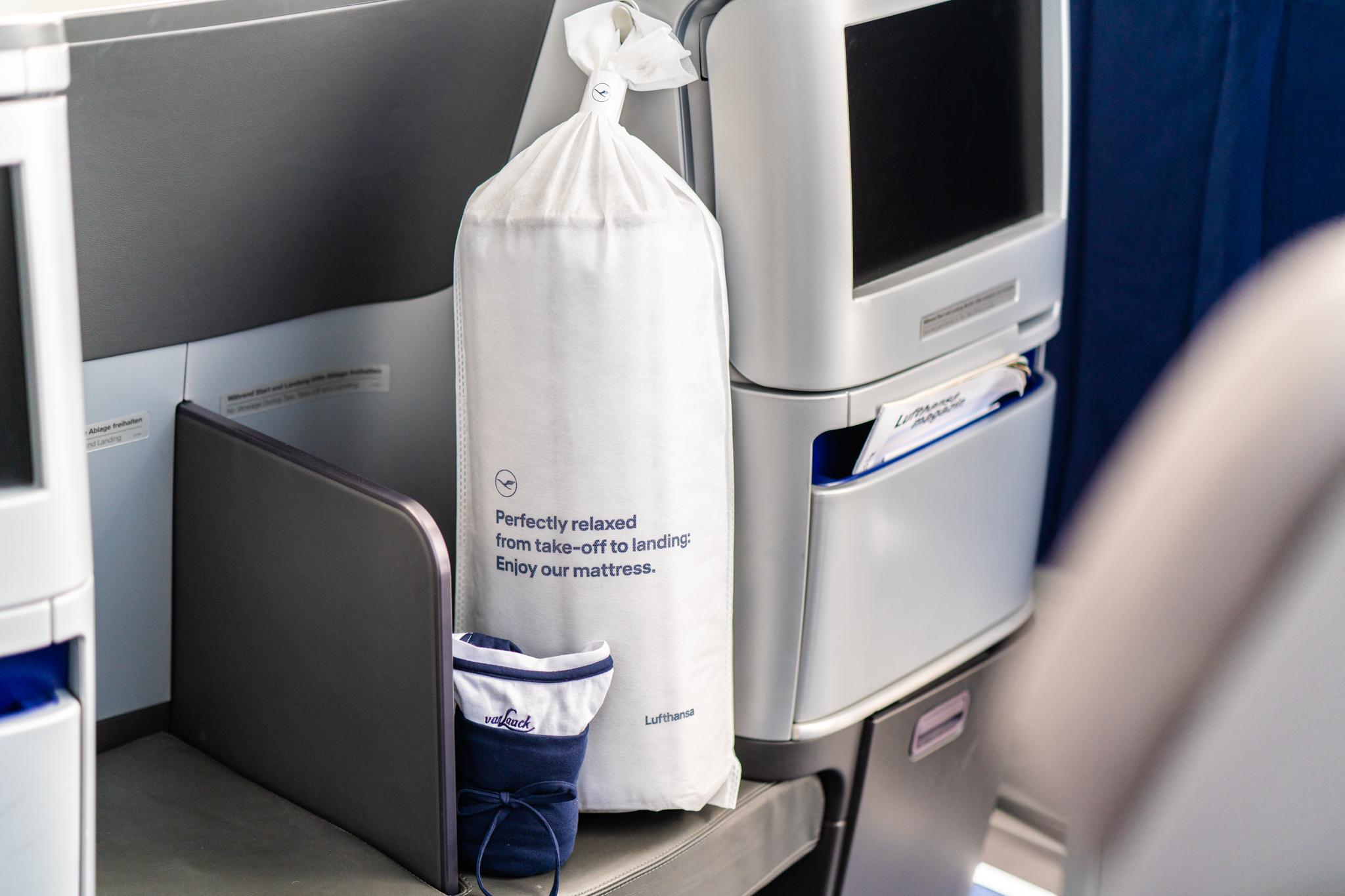 Verbesserter Schlafkomfort in der Lufthansa Business Class