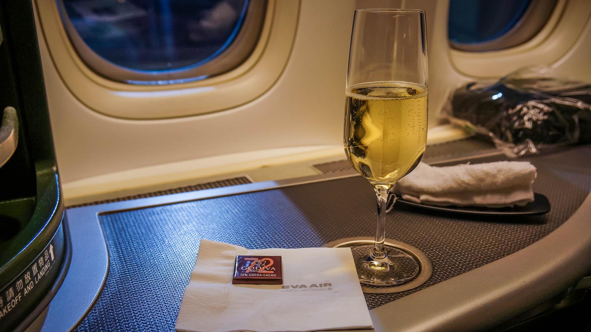 EVA Air business Class Angebote nach Asien