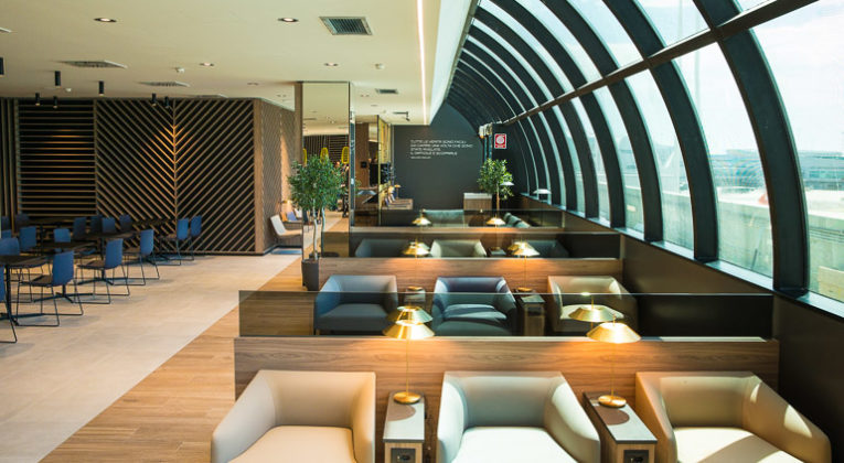 Neue Star Alliance Lounge Rom