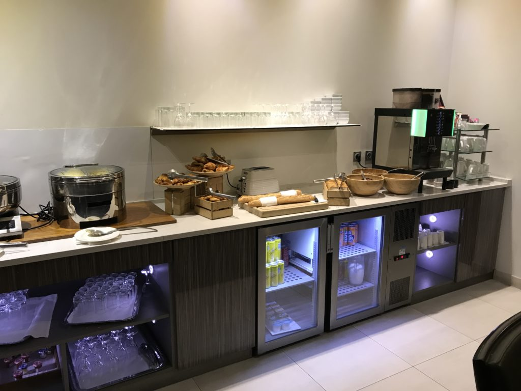 Hilton Paris Charles de Gaulle Airport Executive Lounge