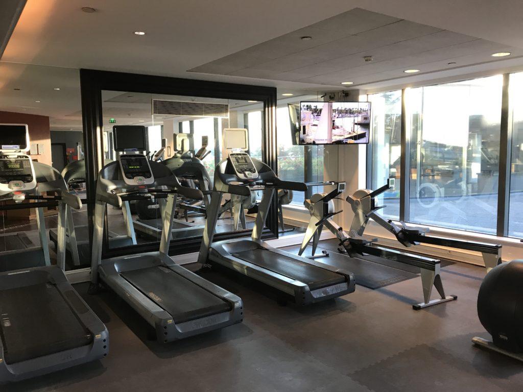 Hilton Paris Charles de Gaulle Airport Fitnessstudio