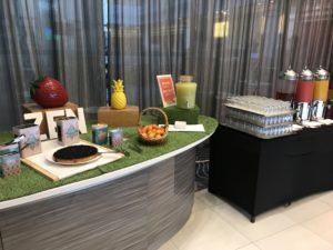 Hilton Paris Charles de Gaulle Airport Frühstück