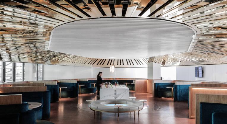 Neue Air France Business Class Lounge Paris