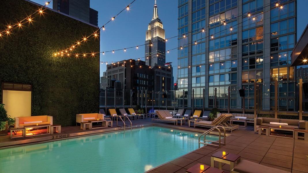 Die 10 schönsten Rooftop-Pools der Welt