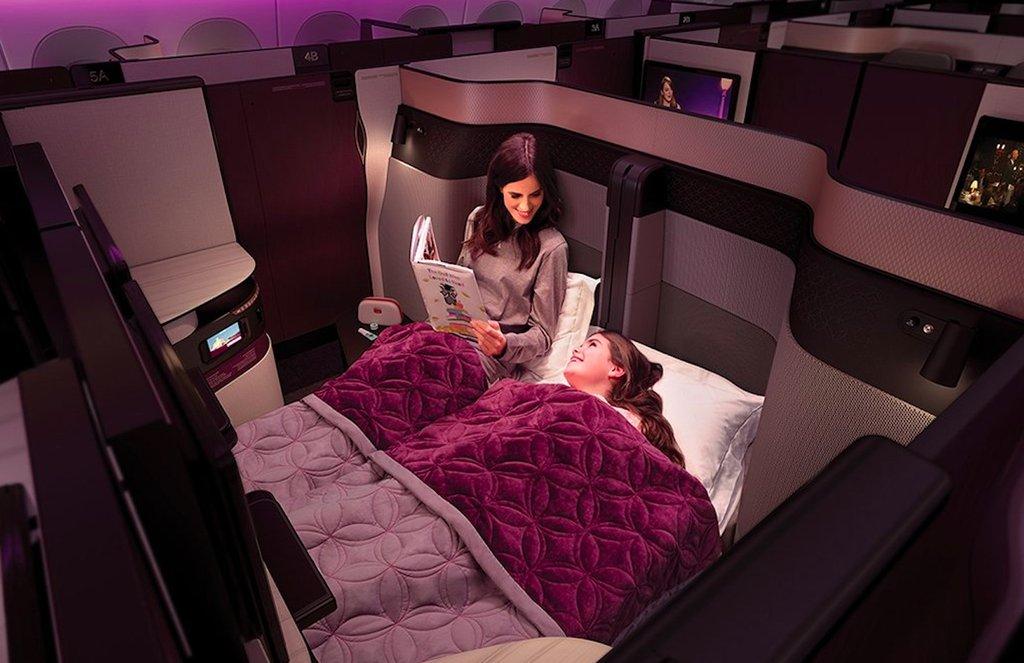 Qatar Airways QSuites günstig fliegen
