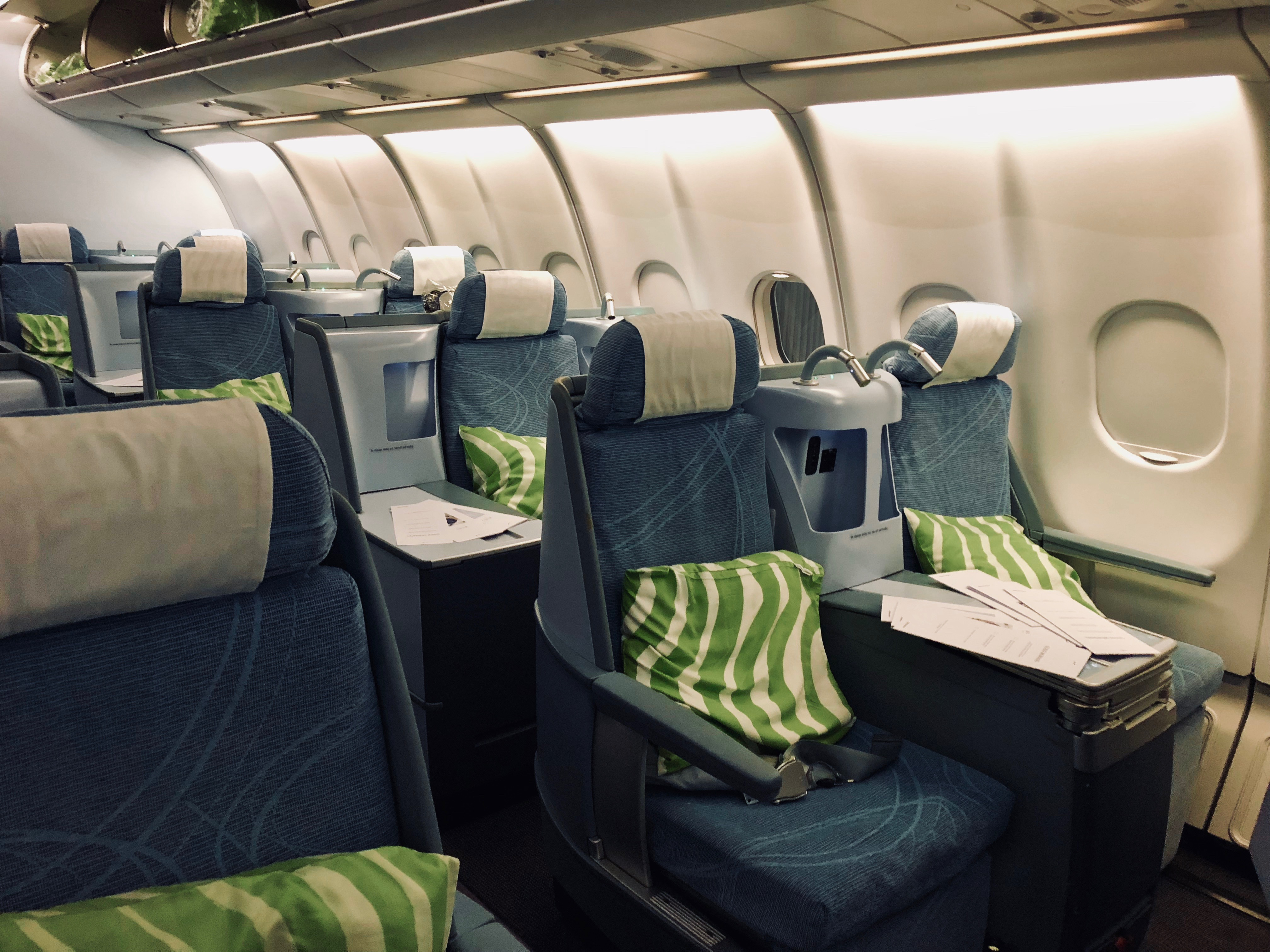 Finnair Business Class A330 Cabin