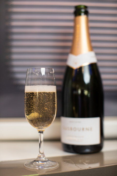 Neuer British Airways Champagner