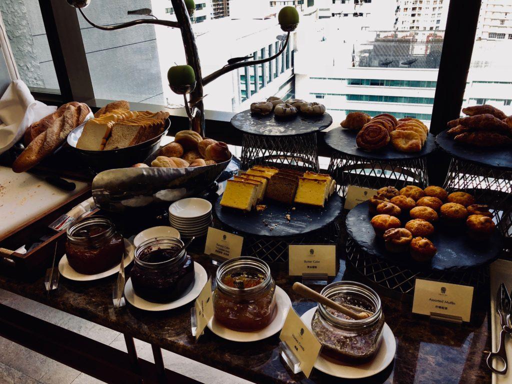 Banyan Tree Bangkok Club Lounge Frühstück
